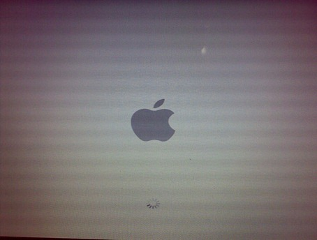 Tela de carregamento do Mac OS