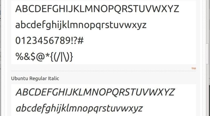 Ubuntu Font é usada em vídeo comercial