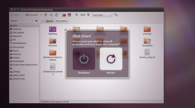 Caixa de diálogo Unity-Style prestes a chegar ao Ubuntu 13.04