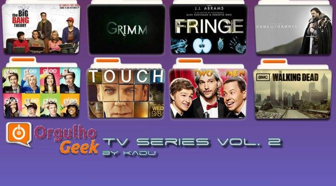 Customize sua pasta de séries com o pacote de icones TV Series Vol. 2