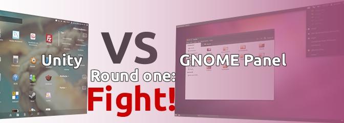 Ubuntu: Unity vs Gnome Panel. Quem ganha?