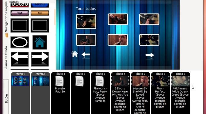 Multimídia no Ubuntu: Criação de DVDs caseiros com DVD Styler