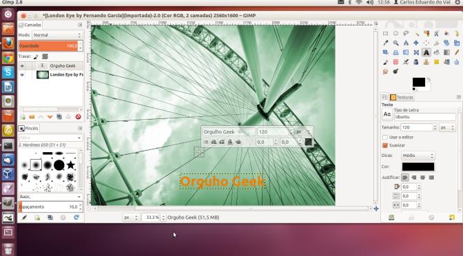 Gimp 2.8 entra em fase final de testes