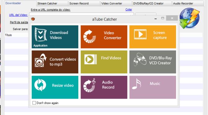 Videos: do download à gravação em apenas um programa