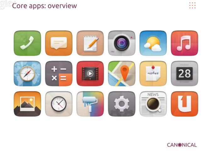 Designer da Canonical apresenta alguns novos ícones do Ubuntu