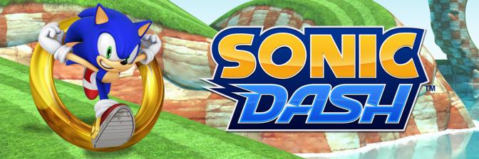 Sonic Dash chega acelerando para Android