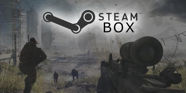 Monte você mesmo o seu próprio Steam Box