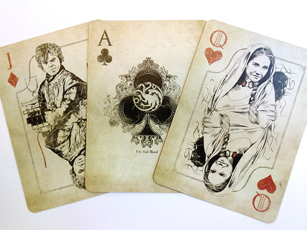 Personagens de Games of Thrones invadem poker