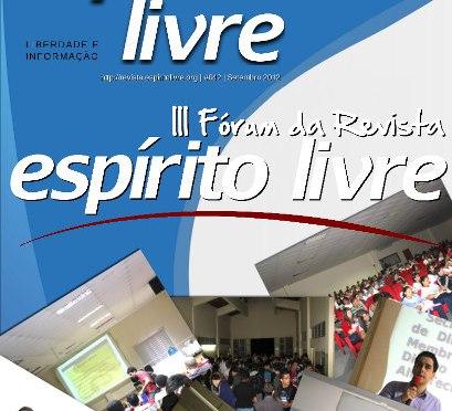 Revista Espírito Livre – edição especial III Fórum (Download)