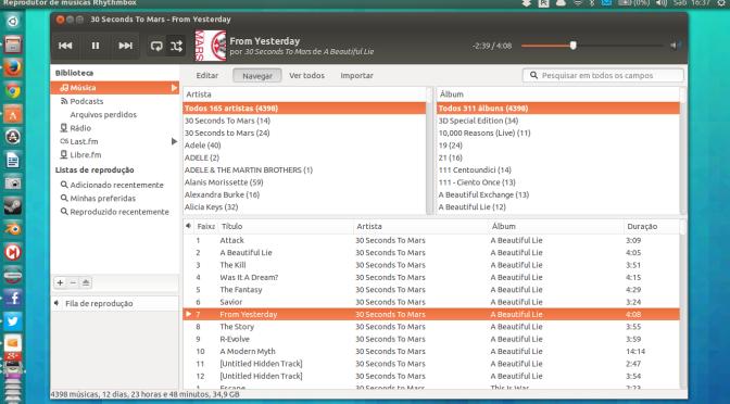 Instale o Rhythmbox 3.0 no seu Ubuntu 13.04 ou 13.10