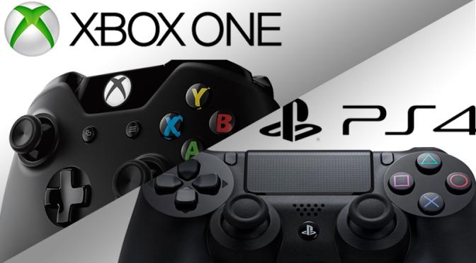 XBOX v PS4